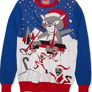 Ugly sweater  Cat Christmas Large